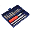 Hobby Knife Precision Set 16pc Exacto Blades Cutting Sculpting Craft Hobby DIY