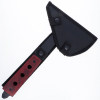ASR Outdoor Full Tang Spiked Axe Tomahawk with Wooden Handle