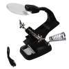 Universal Tool LED Illuminatd Soldering Stand with Magnififer and Iron Holder