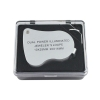 Illuminated magnifier for professional jeweler precision