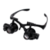 Jewelers Loupe Illuminated Hands Free Magnifying Head Set