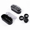 Jewelers Loupe Illuminated Hands Free Magnifying Head Set in Cases