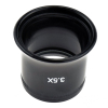 "SE MI140P-C50 3.5X Eye Loupe, 1"" Dia. Optical Glass Lens"