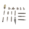 Universal Tool 28pc Wood Burning Wood Working & Assorted Soldering Tips Stencil Set Craft Hobby Set