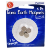 4Pack Rare Earth Magnets Extra Hold