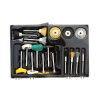 Universal Tool Cleaning Brush 17pc Kit for Rotary Tools