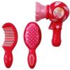 Two Styles of Hair Brushes and Hair Dryer