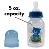 Baby Care Infant Feeding Bottle With Silicone Nipple Blue Bear Fishing 5 ounce