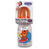 Baby Care Infant Feeding Bottle With Silicone Nipple Orange Tiger Surfing