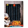 Disney Star Wars Portable Roller Desk Activity Set 8 Crayons