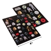 "Disney Star Wars Portable Roller Desk Activity Set Stickers 4"" Sheet"
