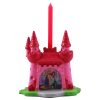 2pk Disney Princess 3D Candle Holder with Candle Set for Princess Themed Parties With Candle