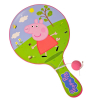 Peppa Pig Deluxe Paddle Ball Indoor Outdoor Family Travel Toy Game