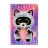 Ty Beanie Boos Rocco the Raccoon Keepsake Girls Journal Diary Notebook Gift Set