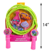 Dreamworks Trolls Deluxe Jump Rope Molded Handles 7 Feet Promotes Exercise Pink