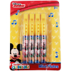 Disney Mickey Mouse Mini Flute Music 4 Pack Instrument Toy