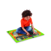 Hot Wheels Felt Mega Playmat with Vehicle