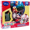 Disney Mickey Mouse and Donald Duck Activity Puzzle Mat 25 piece