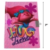 Trolls Pink Princess Poppy 50 Sheet Girls Diary Notebook with Lock and Key Size