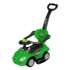 3 in 1 Ride On Push Car Stroller - Green