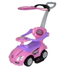 Stroller Ride On Push Car with Sun Canopy - Pink