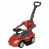 3-in-1 Stroller Kids Ride On Push Car in Red