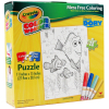 Disney Pixar Finding Dory Crayola Color Your Own Puzzle Gift Set Mess Free Coloring