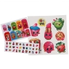 Shopkins Girls Cosmetic Makeup Set PVC Backpack Stickers