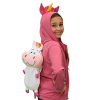KidPlay Jacket Pack It Pets Unicorn Plush Hooded Jacket