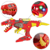 KidPlay T-Rex Battle Bot Dino Toy Dinosaur Blaster Space Gun