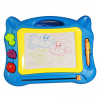 Magnetic Color Drawing Board With Pen, Toy Art Play Set, Blue