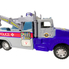 KidPlay Products Go Fast Police Impound Hauler - Blue