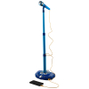 Super Star Kids IPhone Android MP3 Supported Karaoke Stand and Microphone - Blue