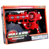 Intergalactic Superhero Laser Space Gun with Alternating LED Lights Sound - Red