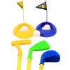 KidPlay Products Kids Toddler Outdoor Golf Club Pretend Play Set - Blue