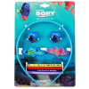 9pc Disney Finding Dory Girls Hair Accessory Set Retail Packaging