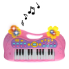"My Little Musician Pink Electronic Musical 16"" Kids Piano Playtime Keyboard Set"