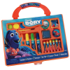 Disney Pixar Finding Dory Art Case Paint and Stamp 22pc Kit