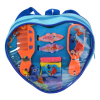 10pc  Disney Finding Dory Heart Shaped Hair Accessory Backpack