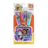 Despicable Me Minions Lip Gloss 2pk With Girls Coin Purse and Hair Clips