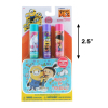 Despicable Me Minions Girls Lip Balm 3pk With Tin Carry Case