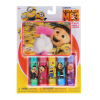 Despicable Me Minions Girls Lip Balm 5pk With Tin Carry Case