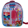 Disney Princess Girls Hair Accessories Backpack with Comb Mirror Hair Ponies