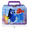 "Disney Pixar Finding Dory 7"" Tin Lunch Box for Kids"