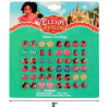 Disney Elena of Avalor Press On Earrings 24 Pairs