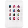 12pc Emoji Girls Press On Nails Set Popular Emoji Icons