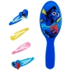 5pc Disney Pixar Finding Dory Hair Brush & Snaps Hair Clips Out of Box