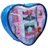 10pc Disney Frozen Heart Shaped Hair Accessory Girls Backpack Hair Ponies Comb