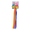 JoJo Siwa Girls Faux Hair Pony Unicorn Extension Clip - Ombre Rainbow
