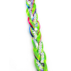 JoJo Siwa Girls Hair Extension Party Braid - Green Rainbow